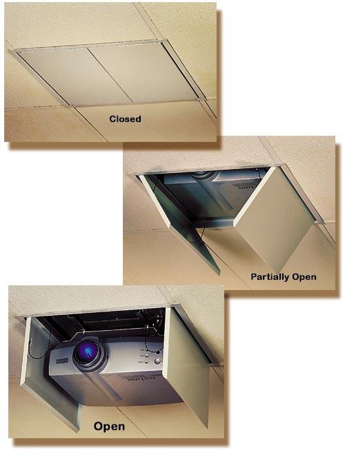5065fbba7a8413 Draper LCD Projector Lift for LCD/DLP Projectors draper