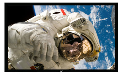 "Elite Screens R92RH1 92"" Wall Mount Projector Screen"
