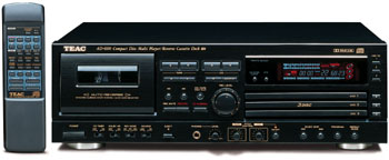 Teac ad-600 cd player cassette deck combo ad600