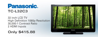 Panasonic LCD TV Special