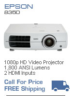 Epson 8100 1080p Home Theater Video Projector