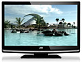 JVC LT32D200 32 inch 720p HD LCD TV with Built-in Side Loading DVD Player