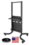 Percheron PR-UFPC750 Universal Flat Panel Cart