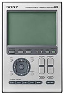 Sony RMAX4000 Universal Remote Control sony rm-ax4000