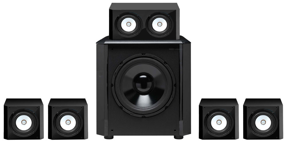 Sinclair Audio Brighton 51 Home Theater Speaker System Review