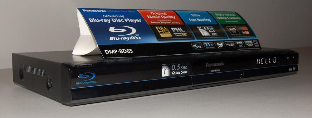 Panasonic Dmp-bd85 Blu-ray Disc Player 1080p