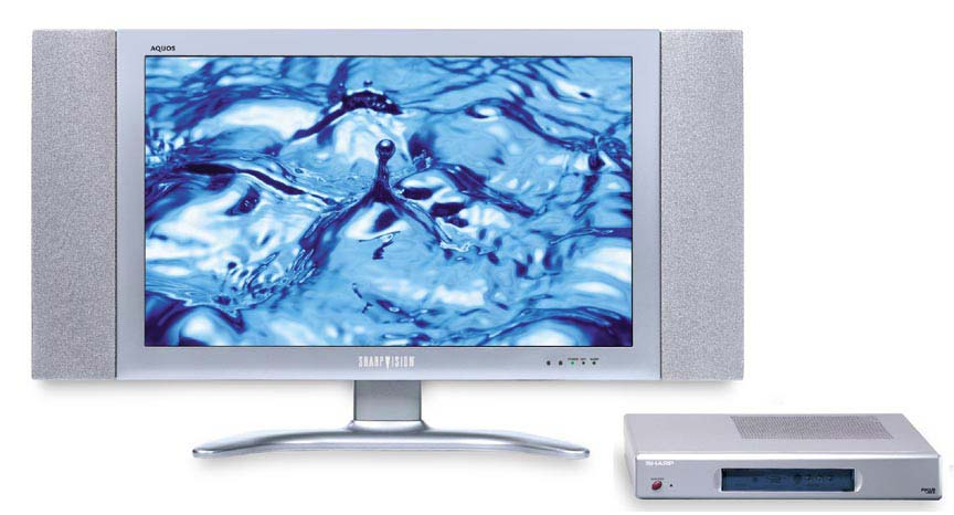 how to clean lcd tv screen sharp